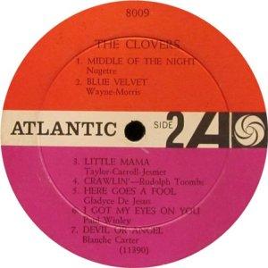 CLOVERS 1956 D
