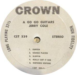 COLE JERRY 1967 D
