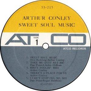 CONLEY ARTHUR 1967 AC