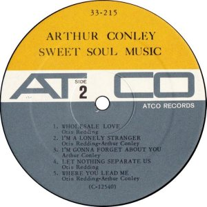 CONLEY ARTHUR 1967 AD