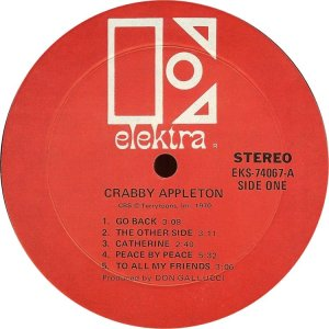 CRABBY APPLETON 1970 C