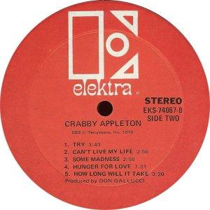 CRABBY APPLETON 1970 D