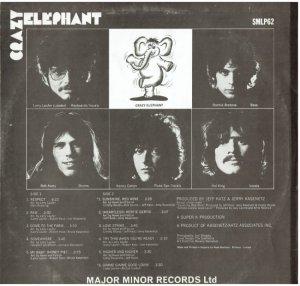 CRAZY ELEPHANT 1969 B