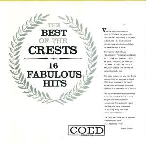 CRESTS 1959 B
