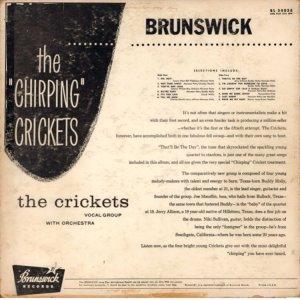 CRICKETS - 1957 B