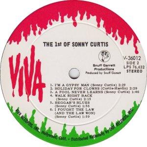 CURTIS SONNY 1968 D