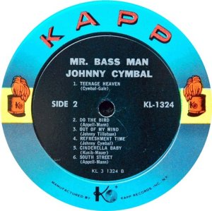 CYMBALL JOHNNY 1963 D