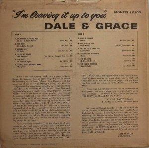 DALE GRACE 1964 B