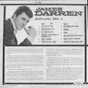 DARREN JAMES 1959 B