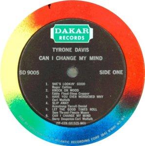 DAVIS TYRONE 1969 D
