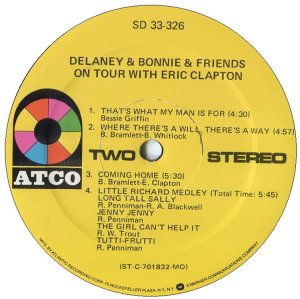 DELANEY BONNIE 1970 D