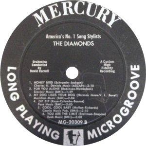 DIAMONDS 1957 D