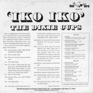 DIXIE CUPS 1965 B