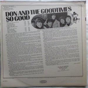 DON GOODTIMES 1967 B