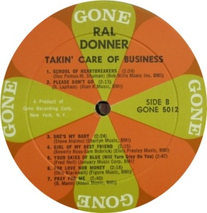 DONNER RAL - 1961 D
