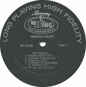DOWELL JOE 1966 C