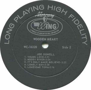 DOWELL JOE 1966 D