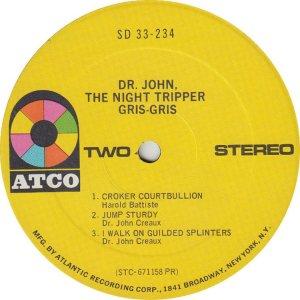 DR JOHN 1968 D