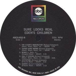 EDEN'S CHILDREN 1968 D