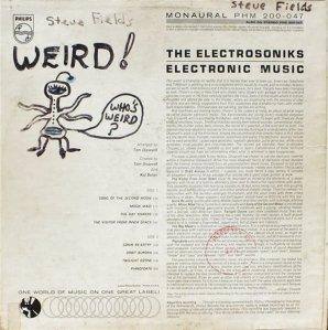 ELECTRONSONICS 1962 B