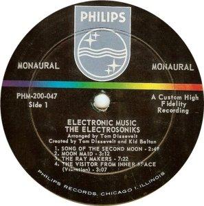 ELECTRONSONICS 1962 D