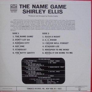 ELLIS SHIRLEY 1965 B