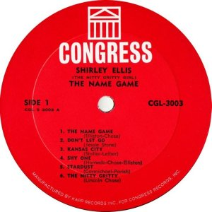 ELLIS SHIRLEY 1965 C