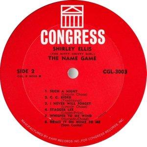 ELLIS SHIRLEY 1965 D