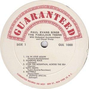 EVANS PAUL 1960 C