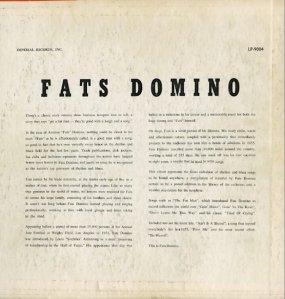 FATS DOMINO - 1956 B