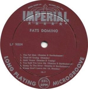 FATS DOMINO - 1956 C