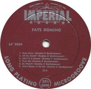 FATS DOMINO - 1956 D