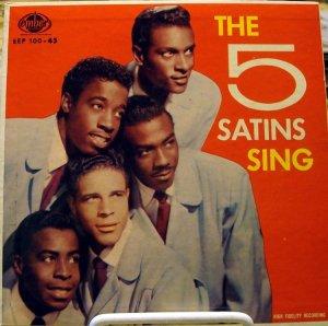FIVE SATINS 1957 A