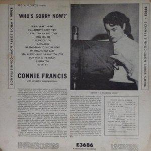 FRANCIS CONNIE 1958 B