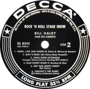 HALEY & COMETS 1956 D
