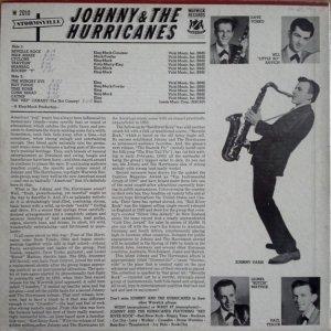 JOHNNY & HURRICANES 1960 B