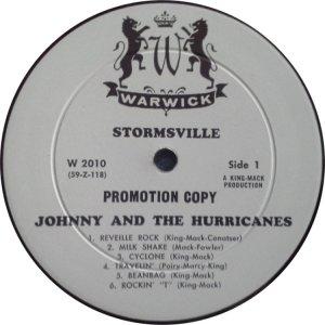 JOHNNY & HURRICANES 1960 C