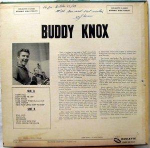 KNOX BUDDY 1957 B