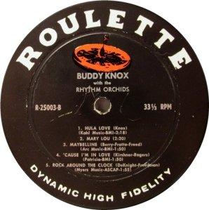 KNOX BUDDY 1957 D