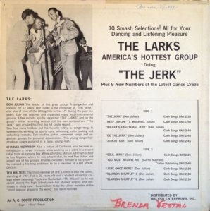 LARKS 1965 B