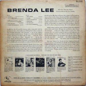 LEE BRENDA 1960 B
