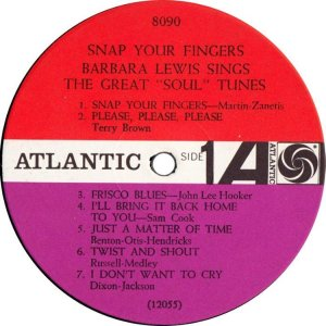 LEWIS BARBARA 1964 C