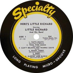 LITTLE RICHARD 1957 C