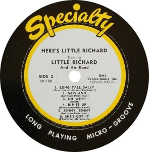 LITTLE RICHARD 1957 D