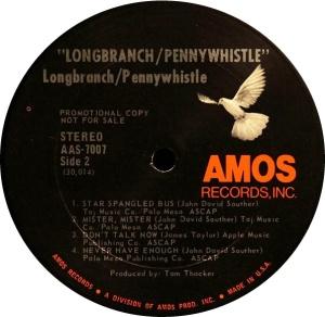 LONGBRANCH PENNYWHISTLE 1970 D
