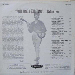 LYNN BARBARA 1963 B