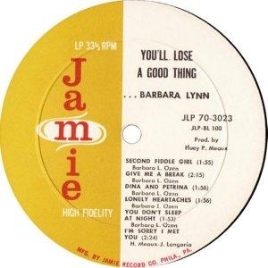 LYNN BARBARA 1963 C
