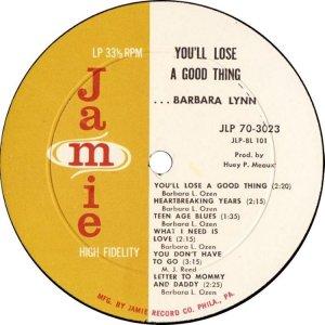 LYNN BARBARA 1963 D