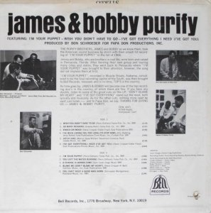 PURIFY JAMES & BOBBY 1967 B