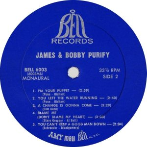 PURIFY JAMES & BOBBY 1967 D